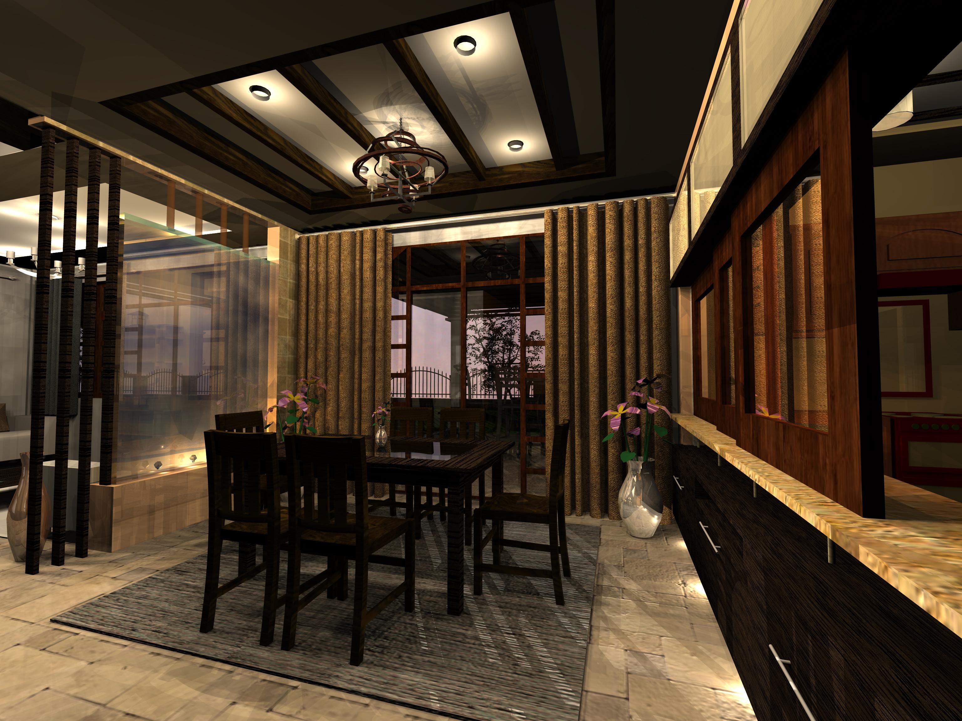 3d rendering artlantis for Interior design rendered images
